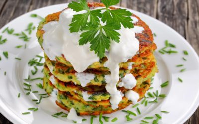 Zucchini Pancakes (No-Wheat)