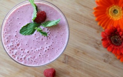 No Yolking™ Smoothie – Raspberry Cranberry