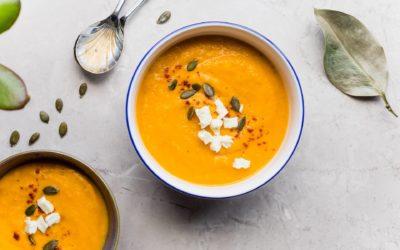 No Yolking™ – Sweet Potato and Leek Soup