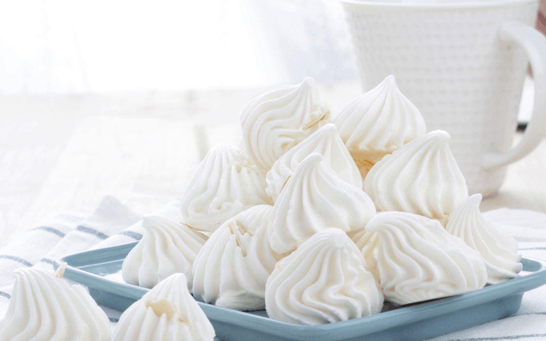 A group of Protein Meringues