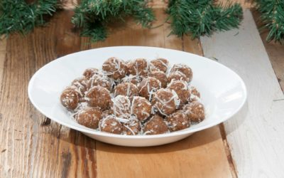 No Yolking™ No-Bake Nut and Date Balls