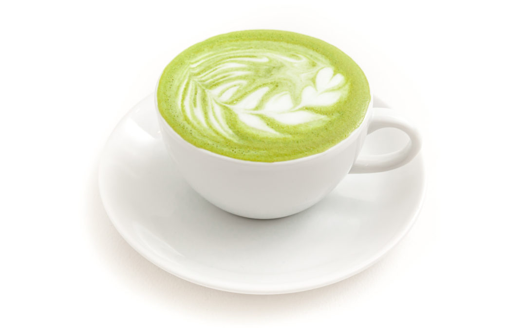 No Yolking™ Matcha Latte
