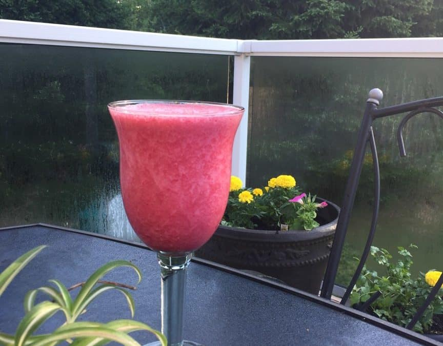 No Yolking™ Just Beet It NY Raspberry Liver Cleanse Mocktail