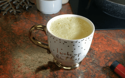 Golden Protein Latte