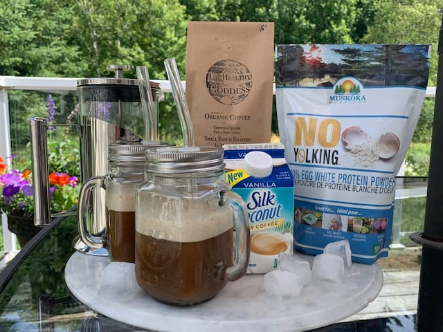 Protein Iced Latte Recipe – No Yolking
