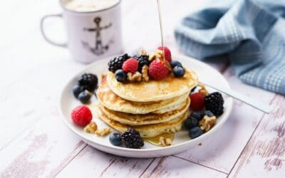 Fluffy Gluten-Free Protein Pancakes
