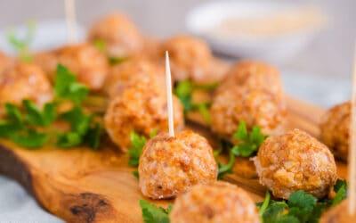 Gluten-Free Flexitarian Lamb & Cauliflower Meatballs