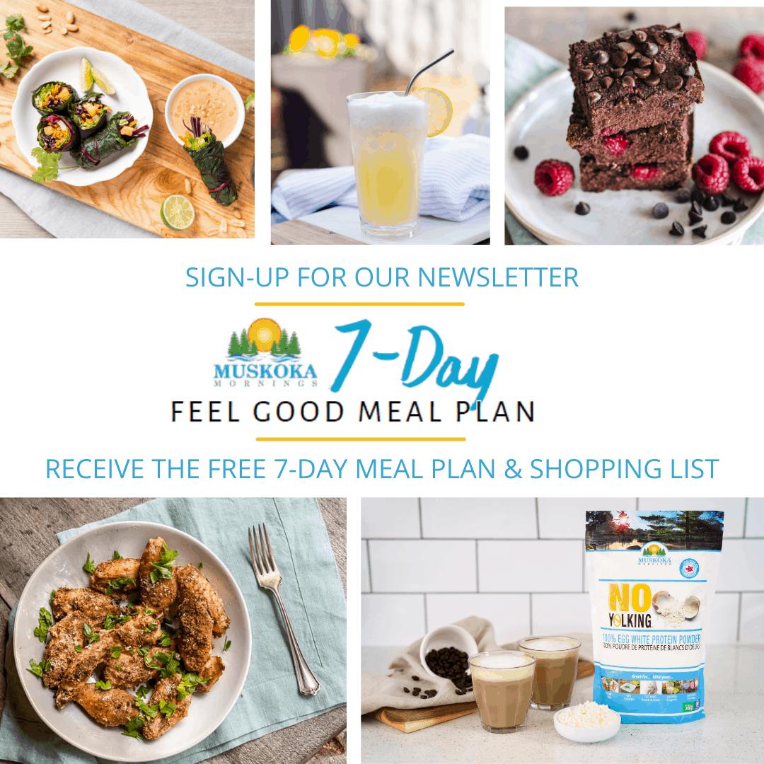 7-Day Feel Good Summer Meal Plan